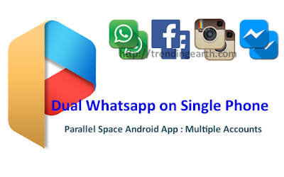 Dual Whatsapp on Single Phone