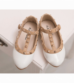 Stud Shoes - White