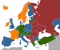 mappa prostituzione Europa