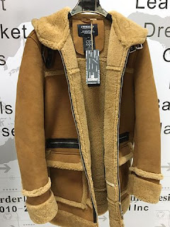 Winter fashion Mensgymfitness - Shearling Jacket
