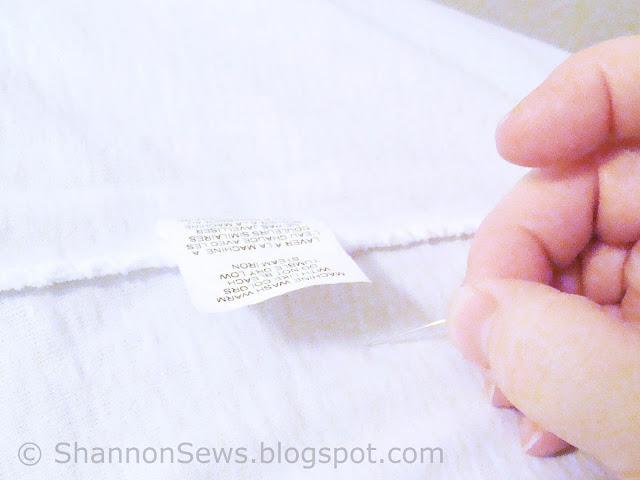 fix t-shirt rip, hole with stitch witchery