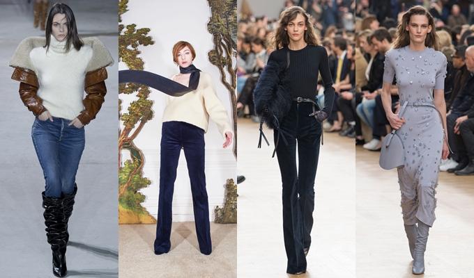 Best of Paris fashion week fall 2017-Ysl,Martin Grant,Nina Ricci.Pariz nedelja mode za jesen zimu 2017 kolekcije.