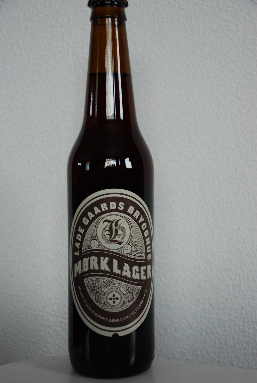 d2a046db Mørk Lager fra Lade Gaard Bryggeri har en kosefaktor på 4,7%, og har en fin  mørk farge. Det er lite lukt av brygget, og det er et friskt øl med akkurat  ...