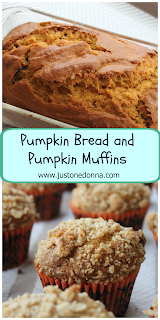 Pumpkin Bread and Pumpkin Muffins