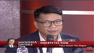 Pakar Hukum Tata Negara Irman Putra Sidin Skakmat Politisi PDIP Yang Sebut Presiden Simbol Negara