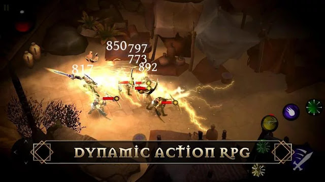 Blade Bound: Hack Legendaris dan Slash Action RPG