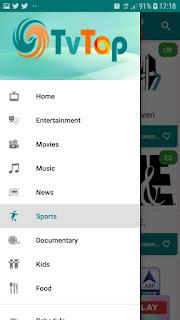 تحميل تطبيق  TVTap Pro APK لمشاهدة  الاف القنوات المشفرة و المباريات بدون تقطيع و بجودة عالية  اخر اصدار