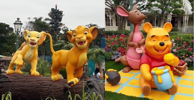 Winnie the Pooh and the Lion King Hong Kong Disneyland