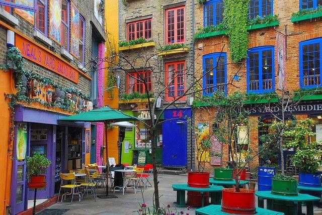 Lugares para soñar I Neal´s Yard London