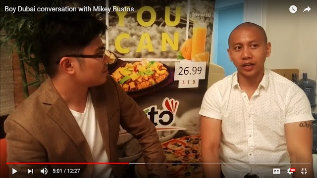 Conversation with Mikey Bustos