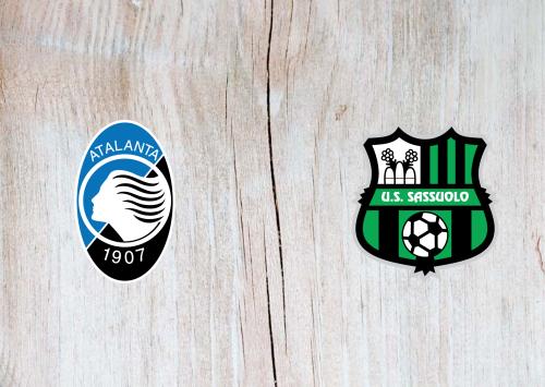 Atalanta vs Sassuolo -Highlights 21 June 2020