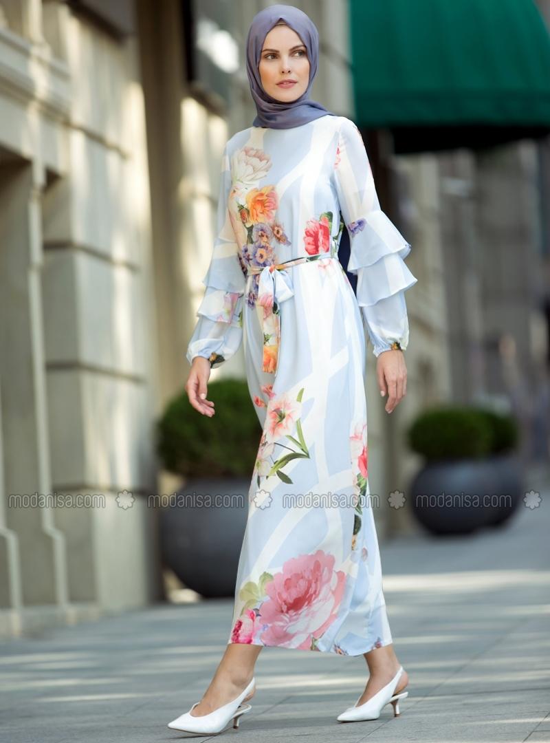 robe longue hijab moderne 2019