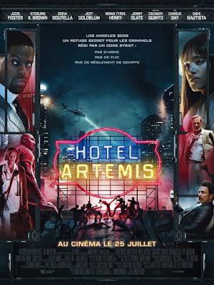 Hotel Artemis Movie Poster 2