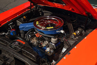 1969 Mercury Cougar Boss 302 Engine 01