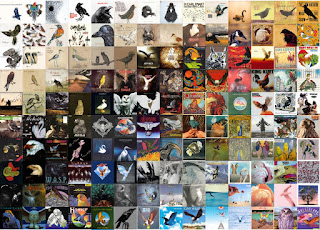 140 albums with birds on the covers.