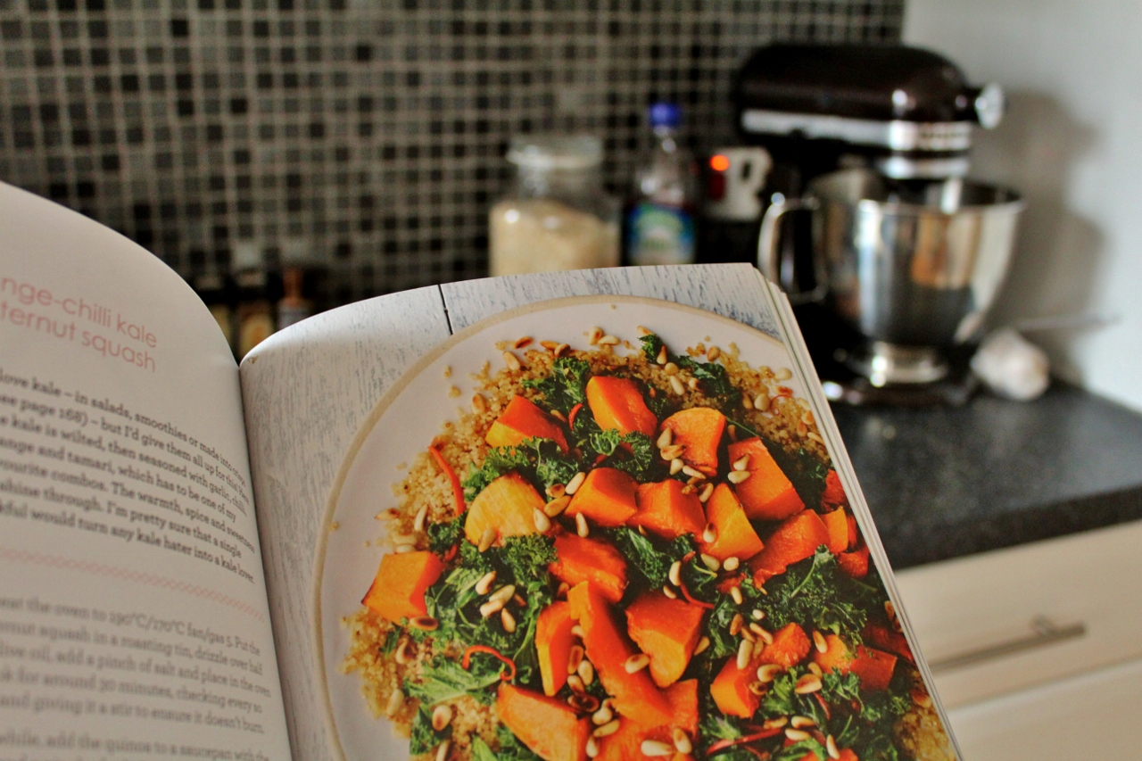 Recipe for quinoa, kale and squash