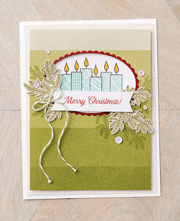 Stampin' Up! 6 Merry Patterns Project Ideas ~ September/October Host Promotion ~ Christmas ~ Holiday Catalog
