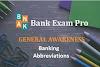 Important Banking Abbreviations   Bank Exam Pro