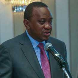Uhuru Kenyatta re-election bid. PHOTO | PSCU