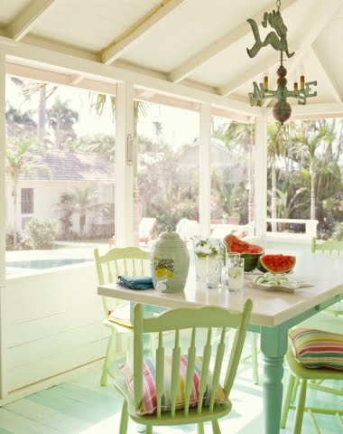 coastal cottage sun porch