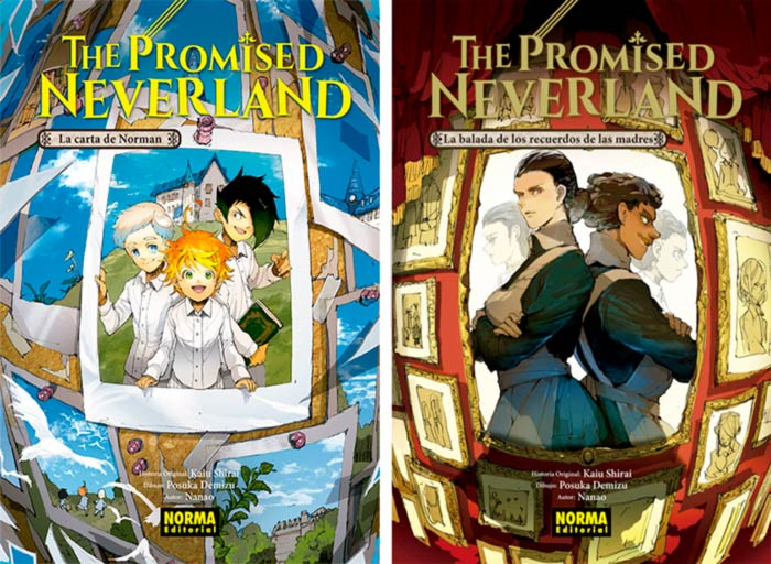 The Promised Neverland (Yakusoku no Neverland) novelas - Norma Editorial
