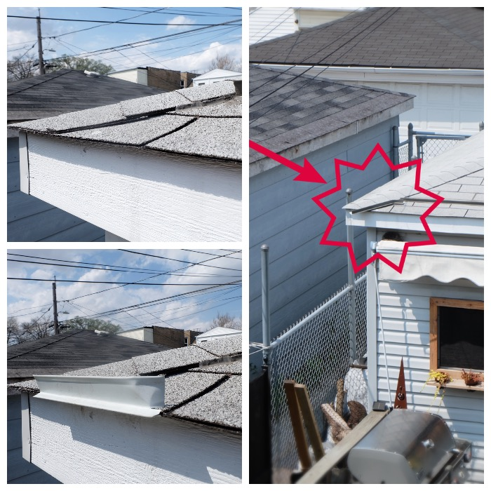 tweaking the gutter alternative with additional drip edge