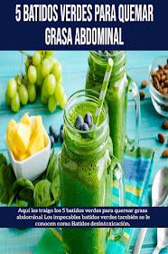jugos verdes para abrasar lípido corporal