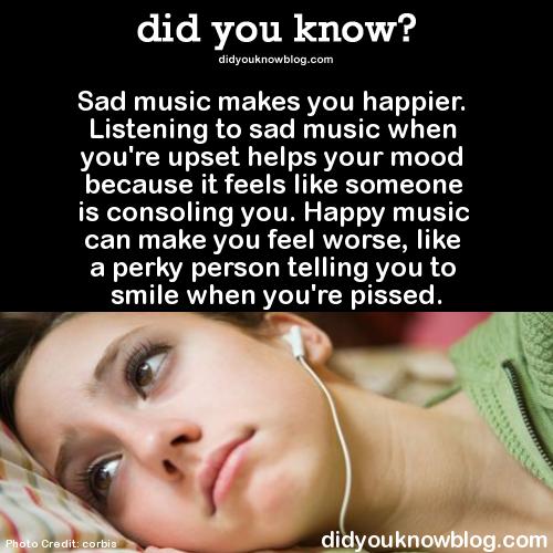 Songs that make you feel sad