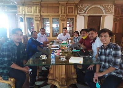 Wakili Hj.Rizayati, Sekjen Pinter Gelar Ratas Bersama Muzdalifah