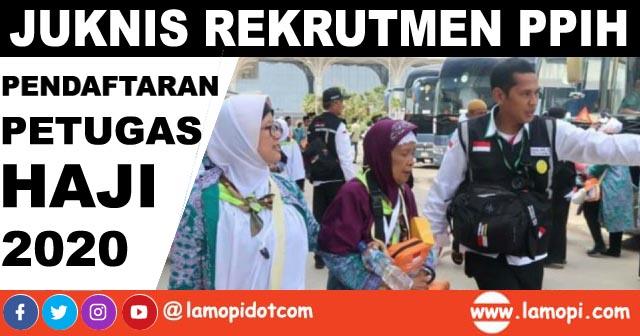 Rekrutmen Petugas Penyelenggara Ibadah Haji (PPIH) 2020