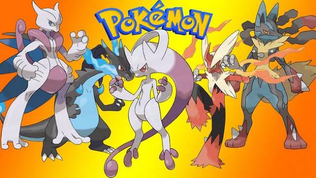 Kumpulan Mega Evolution Pokemon X Dan Y