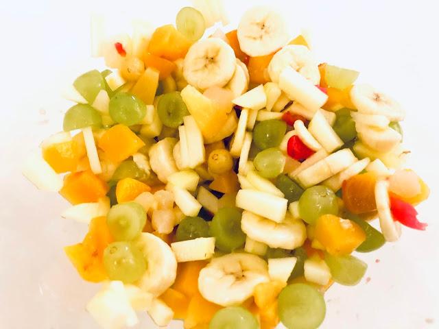 hedelmäsalaatti raskaus
