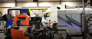 Status Transportation Corporation repair center in Atlanta, GA.