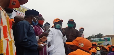 Deputy governor of Ondo State defects to the Zenith Labour Party