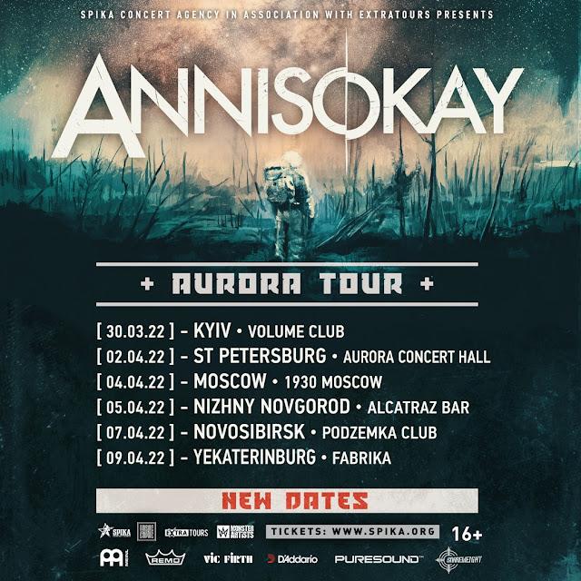 Annisokay в России