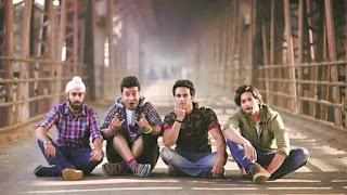 Ali Fazal, Pulkit Samrat, Varun Sharma, Manjot Singh in Film 'Fukrey'