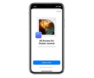 تسمح Apple لمطوري التطبيقات بتقديم اشتراكات مجانية أو مخفضة عبر أكواد العرض