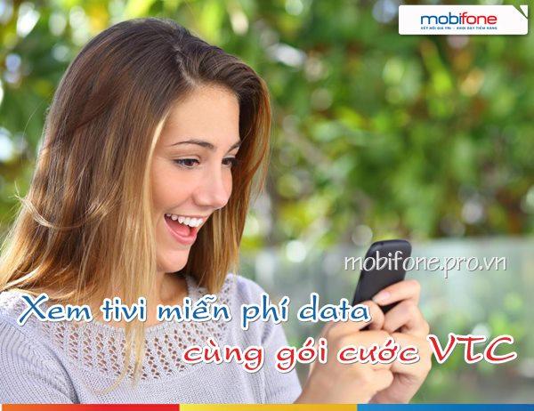 Đăng ký gói cước VTC Mobifone xem Tivi online