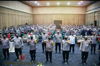 Kapolda Jateng Pelatihan Pra Tugas Sebagai Dalmas Kerangka Jelang Pilkada Serentak 2020