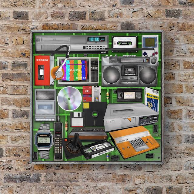 vintage technology art by Mark Taylor