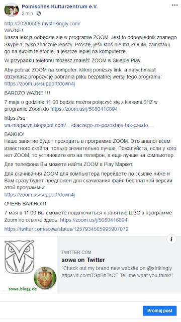 https://www.facebook.com/PolnischesKulturzentrum/posts/3814948565212946