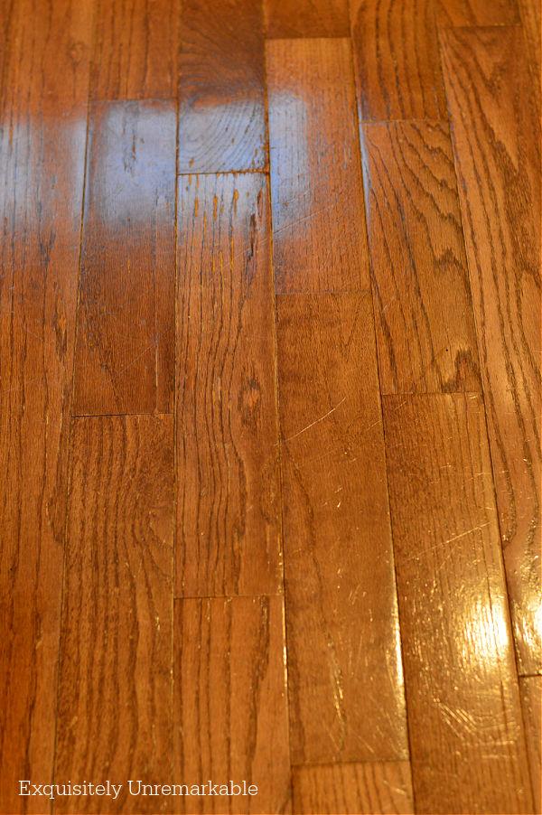 Repaired Wood Floor