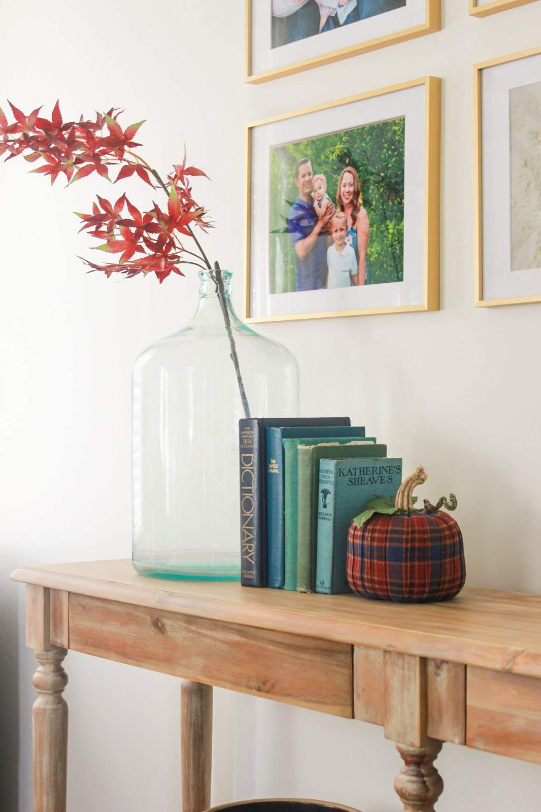 demijohn bottles fall decor