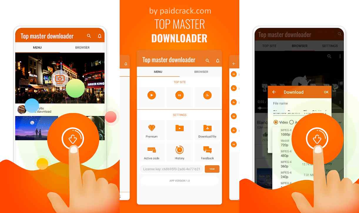 Top Master Downloader Mod Apk 1.1