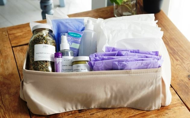 This New Brand Offers 5 Different Recovery Kits for Postpartum Moms