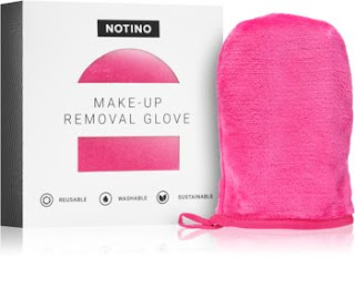 Odličovacia textilná rukavica na čistenie pleti Notino