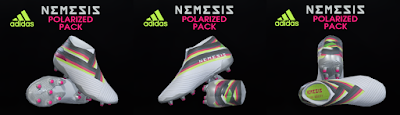 PES 2019 / PES 2018 Adidas Nemeziz 19+ Polarized Pack by Tisera09