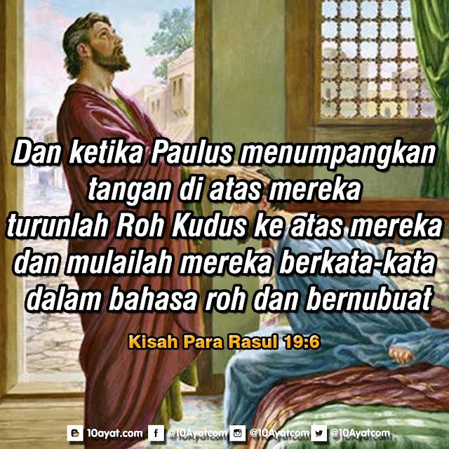 Kisah Para Rasul 19:6