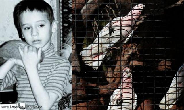 Мама мальчика закрыла его с птицами и он жил там 7 лет. В 2008 году его нашли. Как сложилась его судьба