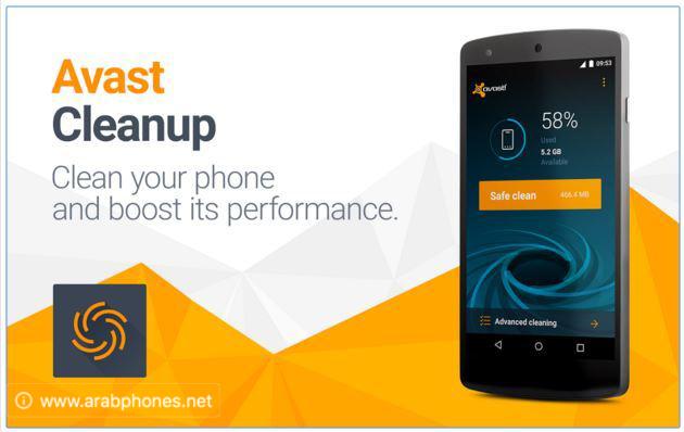 تحميل تطبيق Avast Cleanup & Boost APK لتنظيف وتسريع أندرويد